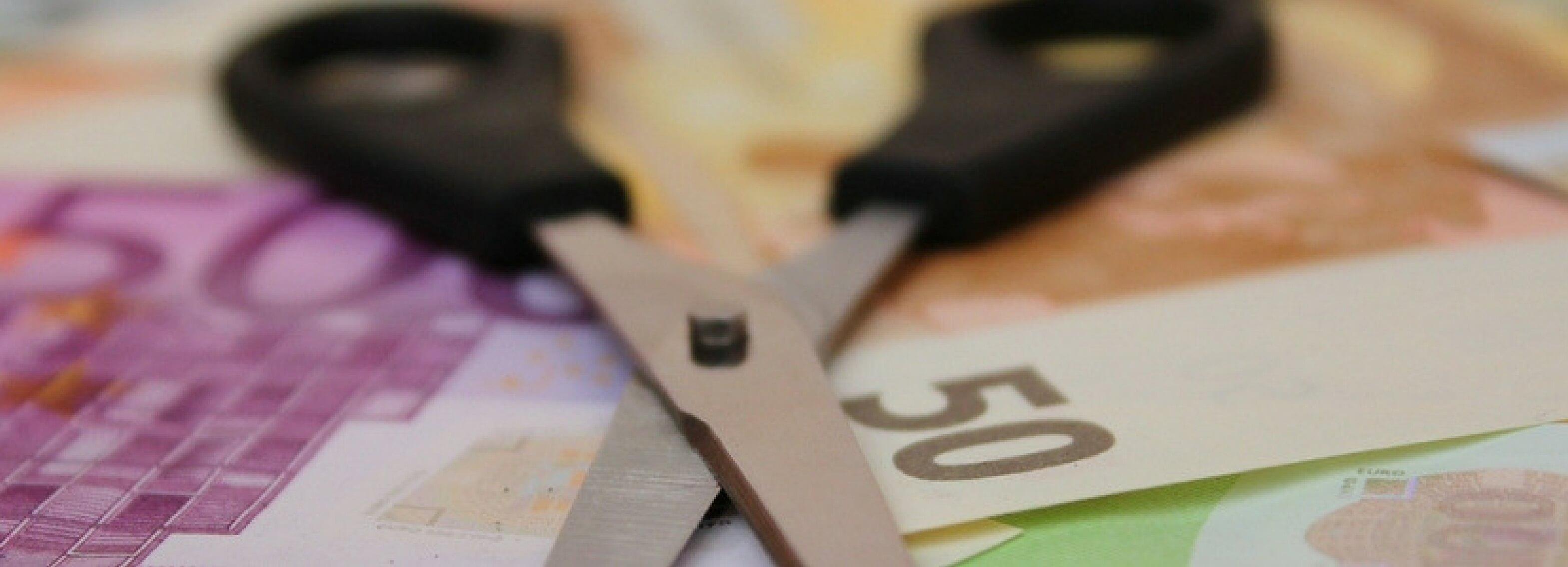 klein pensioen verdelen