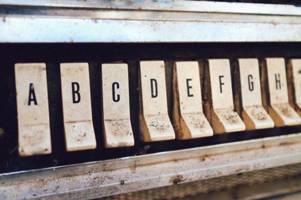 alfabet zoeken