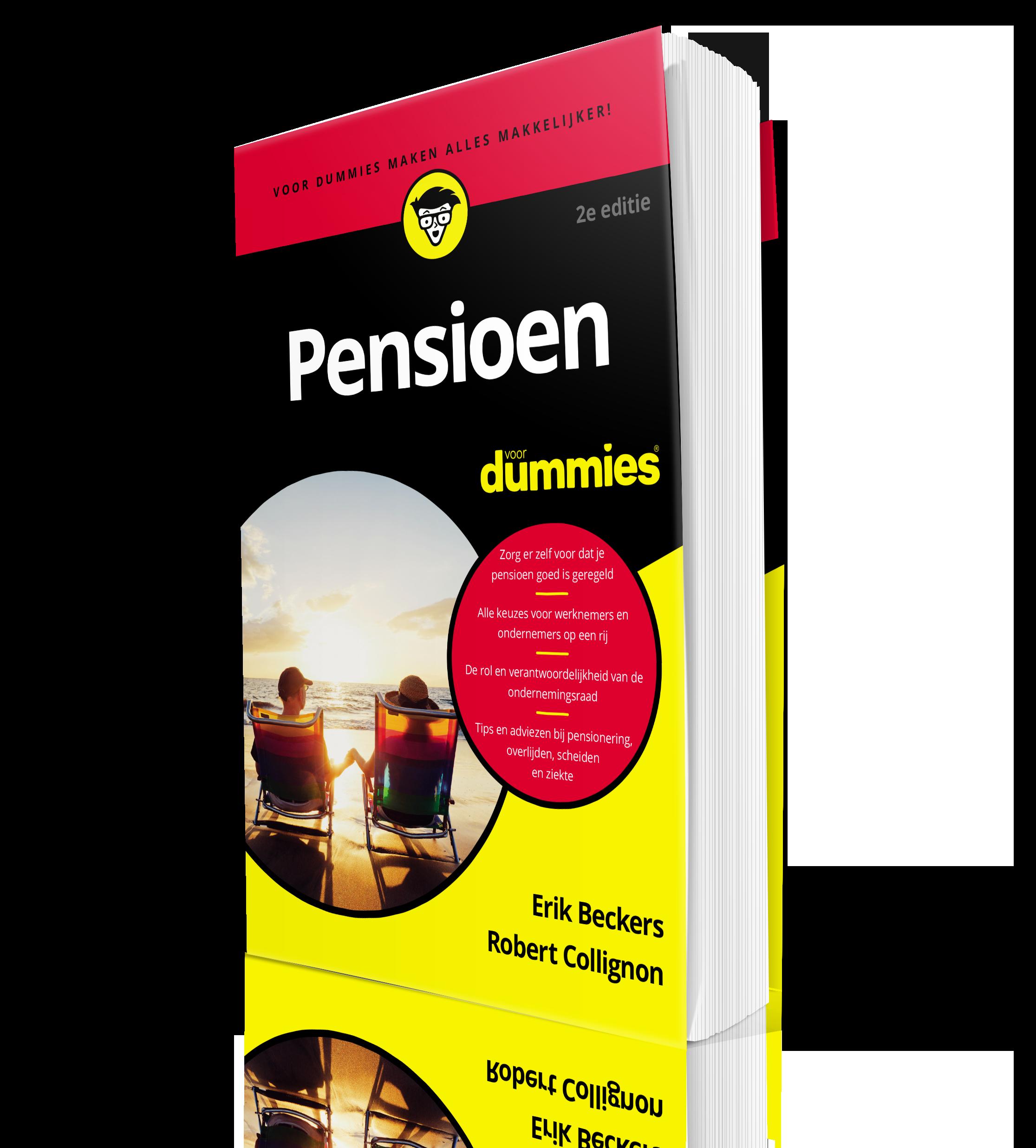 boek over pensioen pensioen voor dummies