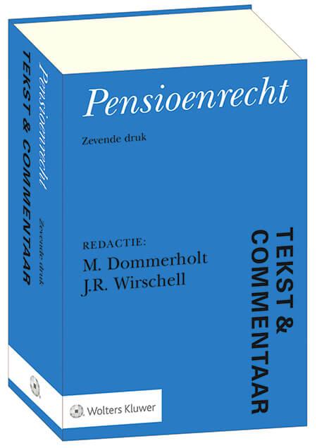 pensioenrecht tekst en commentaar