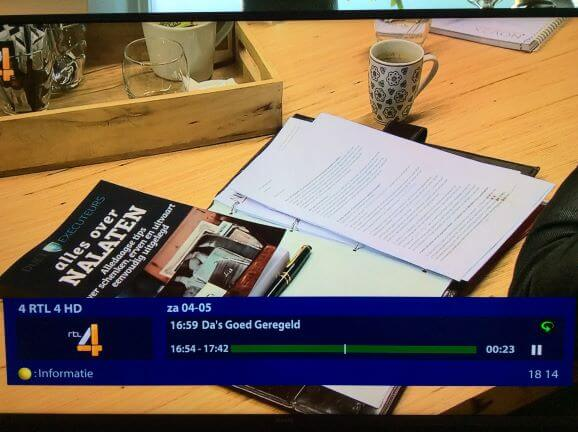 alles over nalaten boek op rtl 4